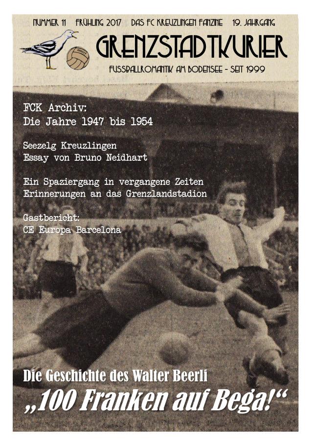 Grenzstadtkurier Nr. 11 - das FC Kreuzlingen - Fanzine